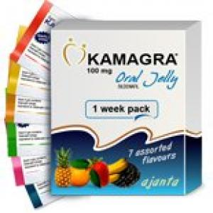 Kamagra Oral Jelly - Grape -  - Ajanta Pharma, India